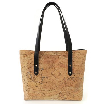 cork travel tote